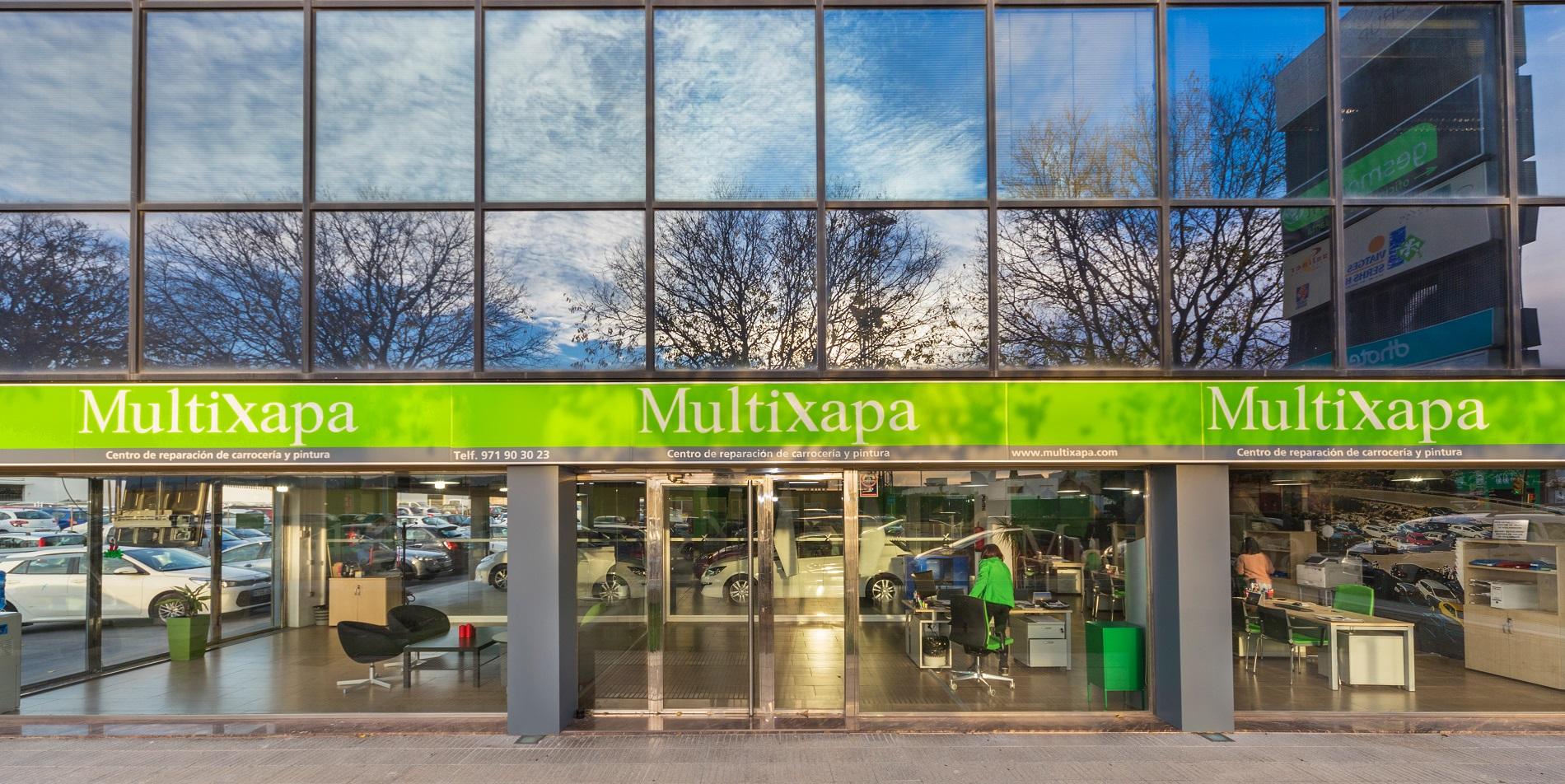 Multixapa - Taller de chapa y pintura en Mallorca