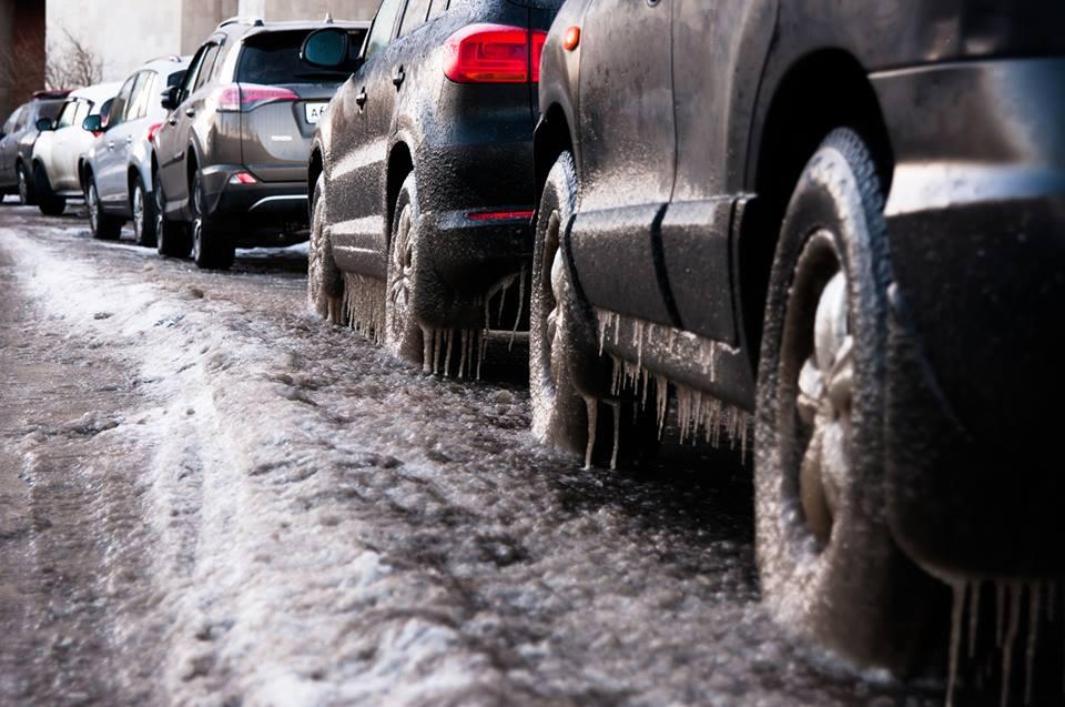 Conducción en carreteras con hielo