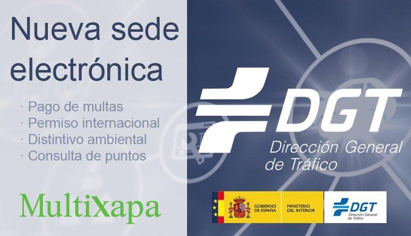 Nueva Sede electrónica de la Dirección General de Tráfico (DGT)